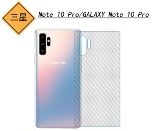 Dán mặt sau Galaxy Note 10 series các loại